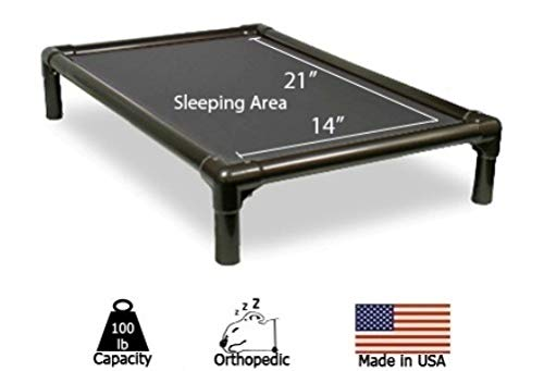 Kuranda Dog Bed - Chewproof - Walnut PVC - Indoor Bed - Cordura Fabric