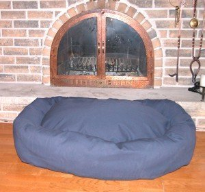 mammoth xl orthopedic oblong dog bed