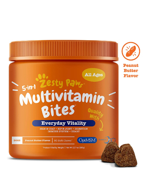Zesty Paws Multivitamin for Dogs